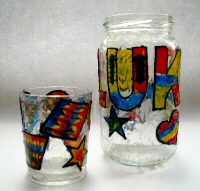 Childrens Glass Painting Project