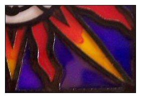 glass paints blended on lightcatcher