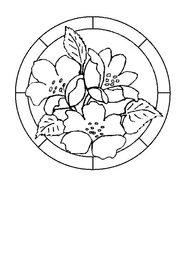 Flower designs for glass painting glass painting for Glass painting designs