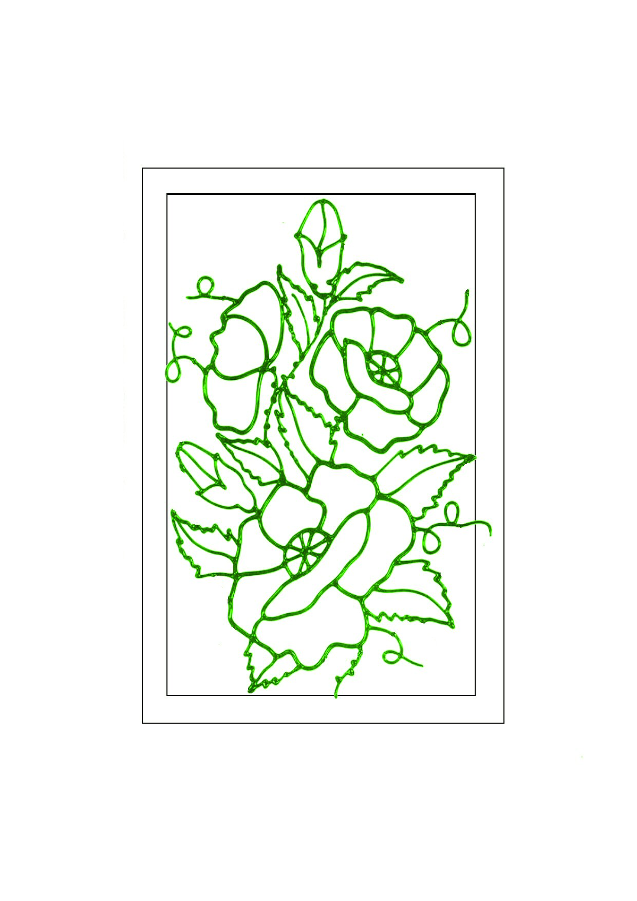 Free glass painting designs for projects glass painting for Glass painting templates