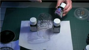 Glass Painting 3d Objects.