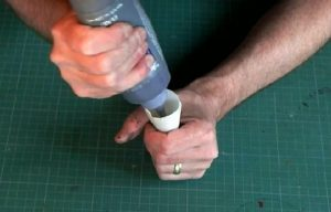 How to make aGlass Painting Piping Bag