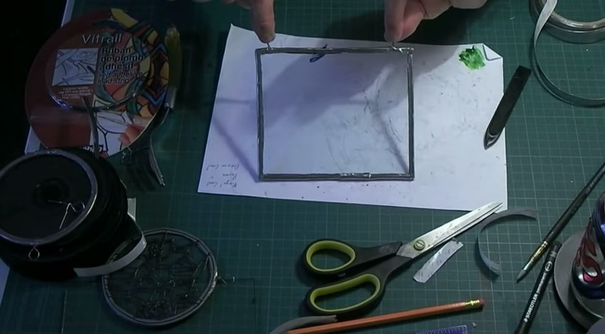 Making Your Own Blank Suncatcher