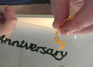 Outlining Lettering