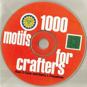 1000 Motifs for Crafters CD.