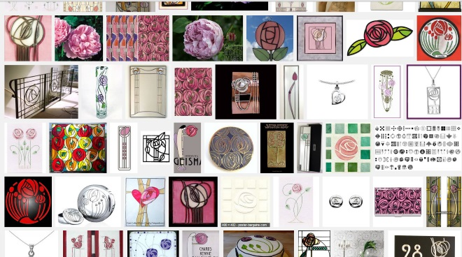 Rennie MackIntosh Design Search