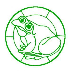 Simple Frog Design.