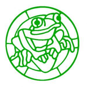 Tree Frog Lightcatcher Design.