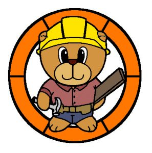 Builder Bear in Colour.