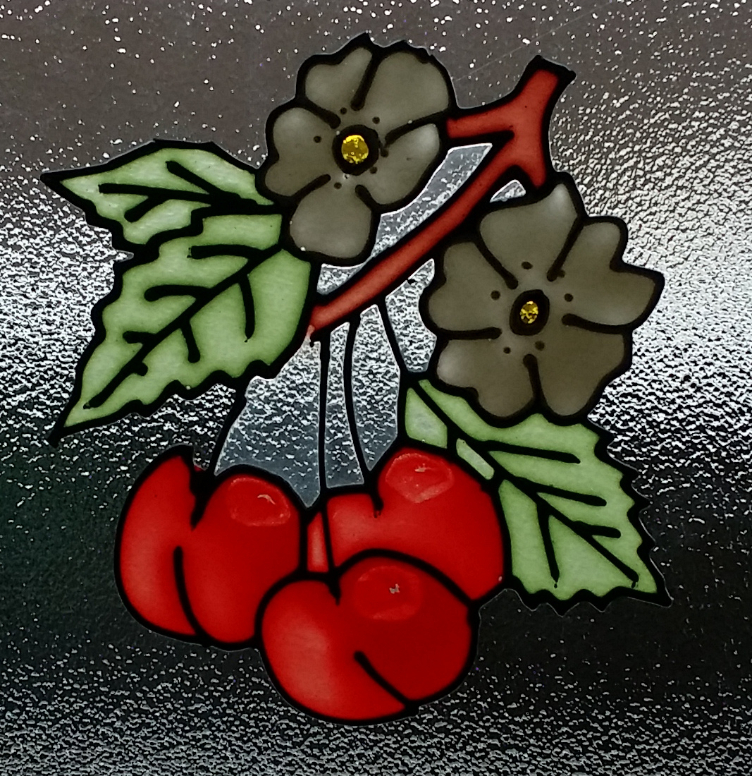 Cherry Window Peelie.