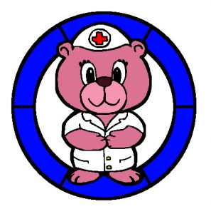 Nurse Bear in Colour.