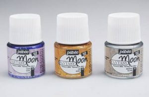 Pebeo Fantasy Moon Review. Paint for Glass.