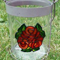 Pebeo Virail Glass Paints. Vase.