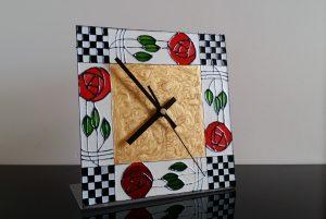 Mackintosh style clock.