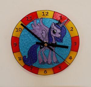 Pony Themed Clock.