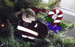 Glass Painted Christmas Decorations