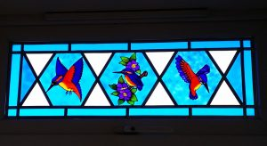 Glass Painting Projects: Glass Painted a Window.