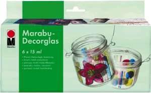 Marabu Decorglas starter kit.