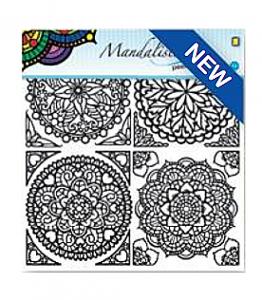 Smaller Mandala designs from Je Je.