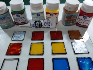 Glass & Tile Paints.