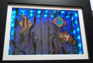 How to make a 3d Glass Painted Picture.