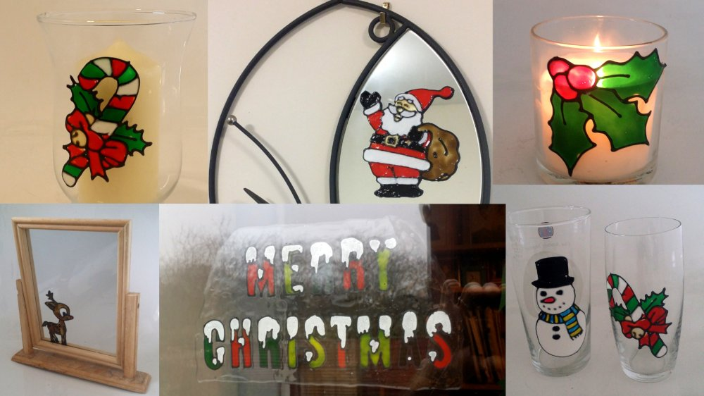 Glass Painting Christmas Special.