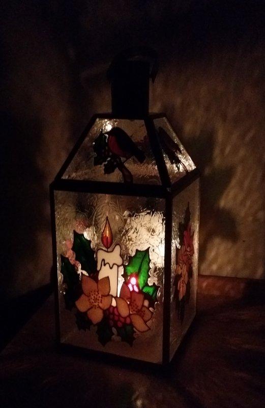 Christmas Lantern Project.