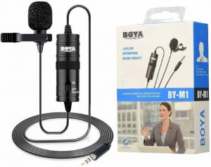 Good but inexpensive lapel mic.