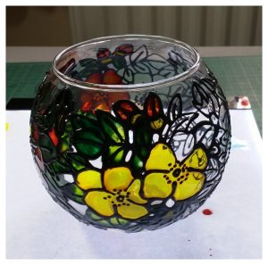 Glass Painting 3.