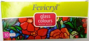 Fevicryl Glass Colours.